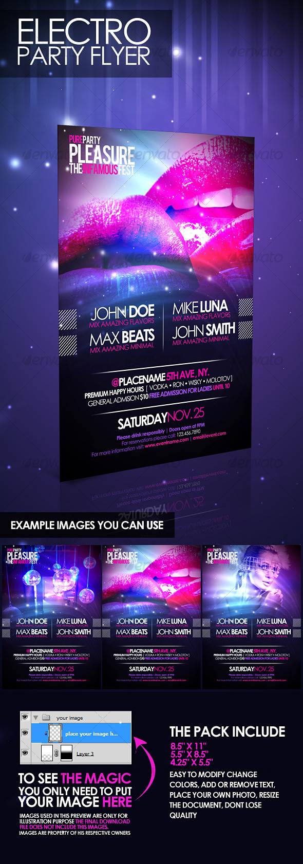 23 crazy cool concert flyer and poster templates best designers