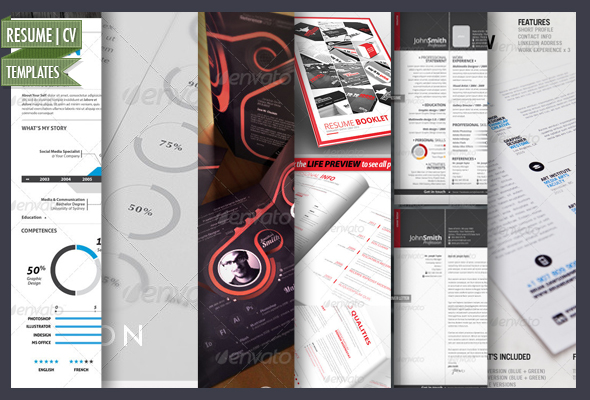 15 simple and advanced resume cv templates best designers