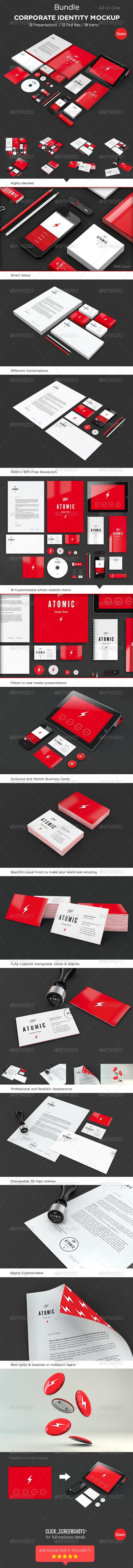 Corporate Identity Mockup Bundle