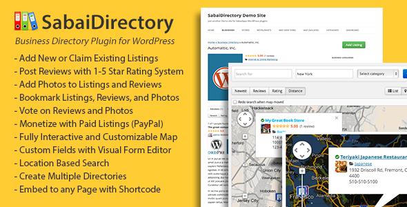 SabaiDirectory for WordPress