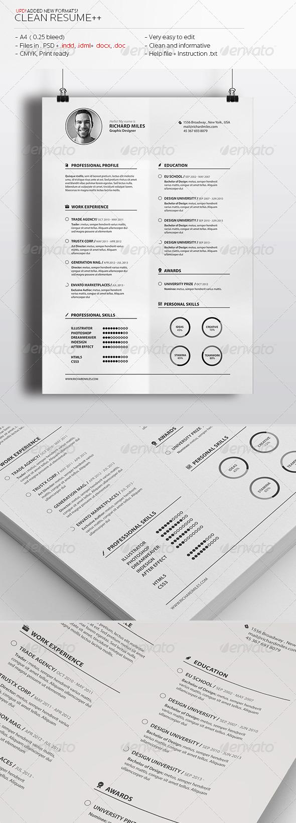 Clean Resume++