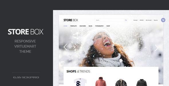 StoreBox - Unique, Responsive VirtueMart Theme