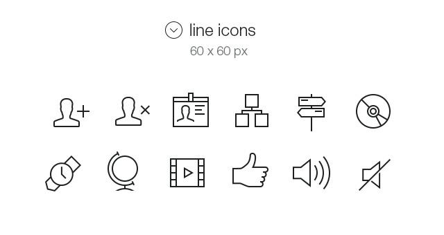 Tab Bar Icons iOS 7 Vol5-2