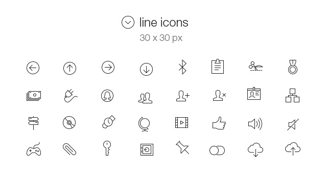 Tab Bar Icons iOS 7 Vol5-4
