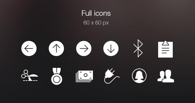 Tab Bar Icons iOS 7 Vol5-5