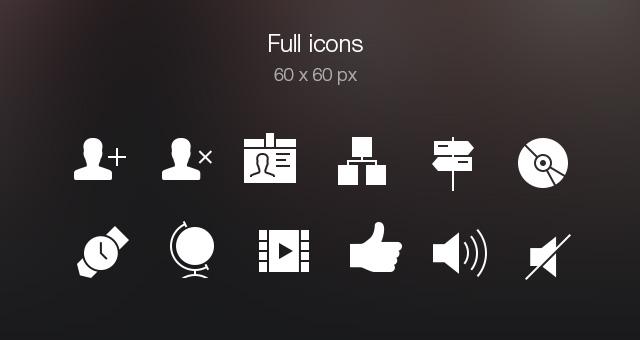 Tab Bar Icons iOS 7 Vol5-6
