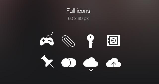 Tab Bar Icons iOS 7 Vol5-7