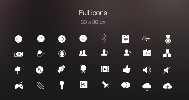 Tab Bar Icons iOS 7 Vol5-8