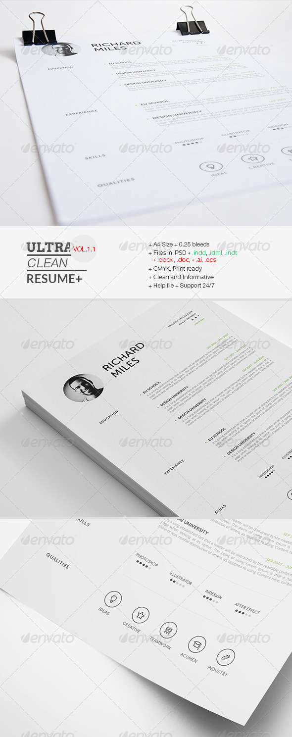 Ultra Clean Resume