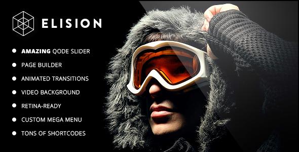 Elision - Retina Multi-Purpose WordPress Theme