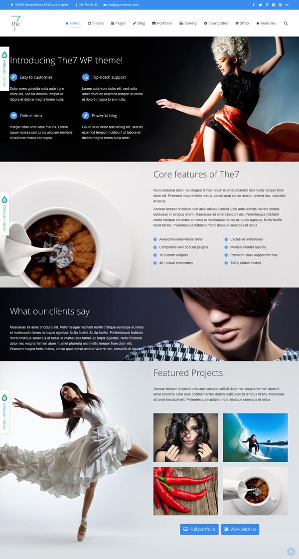 The7 Responsive-Multi-Purpose-WordPress-Theme